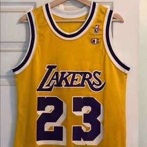 5124d91e32b Champion Other - Ceballos Lakers jersey